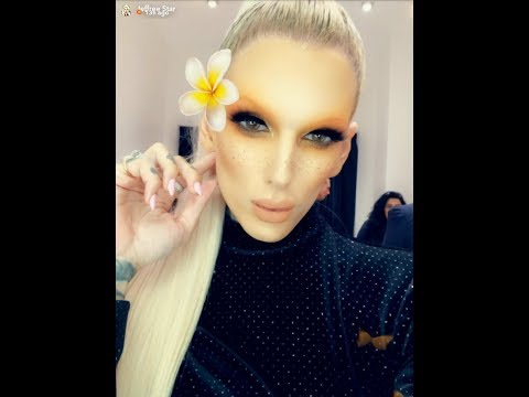 Jeffree Star Goes To Morphe Store Launch| SnapChat Story