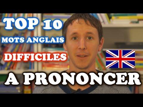 Top 10 des mots anglais difficiles à prononcer