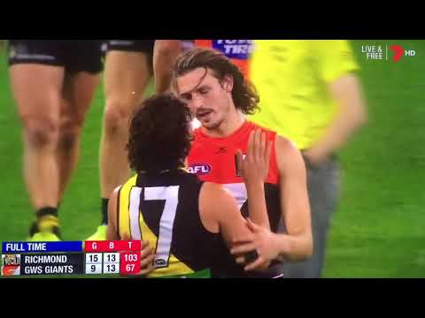 Last 41 seconds Richmond vs GWS Second Preliminary Final 2017