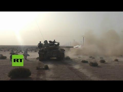Las tropas del gobierno sirio avanzan posiciones en los alrededores de Homs