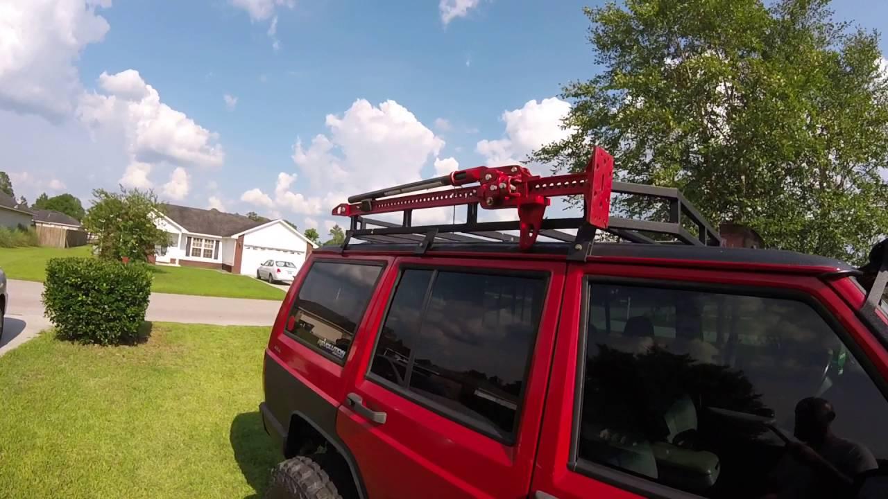 how to diy roof rack gutter mounts