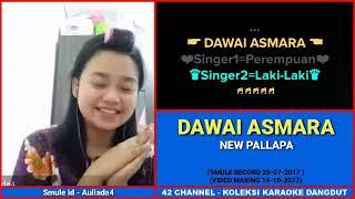 Download lagu Karaoke dangdut duet artis dawai asmara MP3