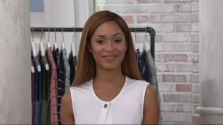 LOGO Lounge by Lori Goldstein French Terry Vest with Ruffle Detail on QVC(, 2017-02-25T21:26:17.000Z)