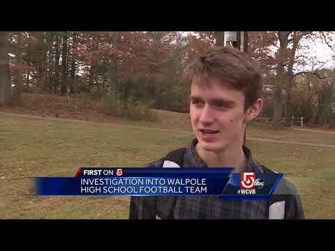 Walpole High School varsity football team under investigation over incident