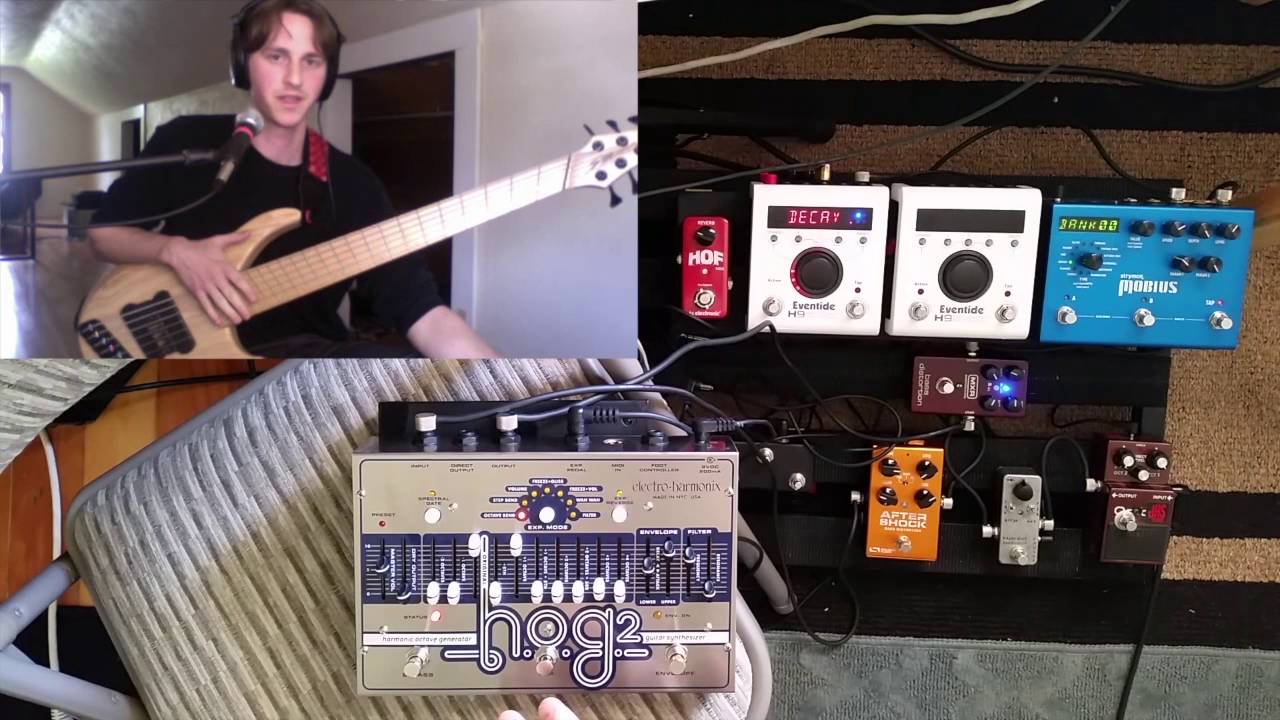 Electro Harmonix Hog 2 Demo Electro Harmonix Hog 2 Demo (bass Effects Review) - Youtube