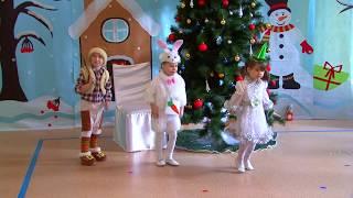 видео новогодний утренник в детском саду