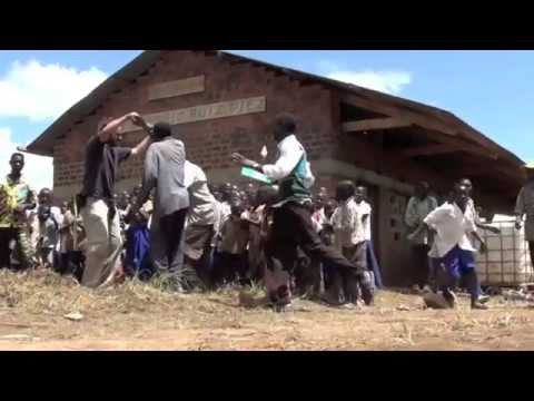 Mzungu Project - Celebration of First School Built in Democratic Republic of Congo