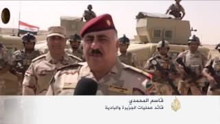 القوات العراقية تستعيد جزيرة البغدادي