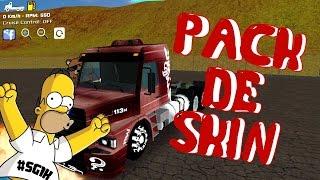 Grand Truck Simulator - PACK DE 100 SKINS (ESPECIAL DE 500SUBS)