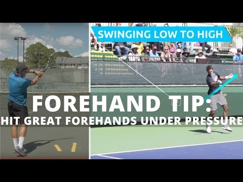 Hit Great Forehands Under Pressure