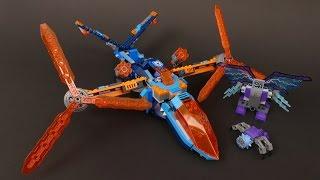 LEGO Nexo Knights 70351 Clay's Osprey Alternate MOC