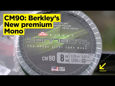 CARPologyTV | Berkley Connect+ CM90 Mono Review | Super-dense, Abrasion Resistant & High-performing