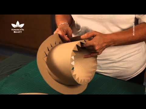 Elaboraci n de sombreros de cart n parte 2 youtube - Manualidades en carton ...