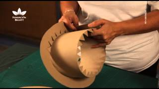 Elaboración de sombreros de cartón. Parte 2
