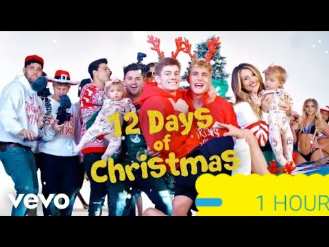 1 HOUR Jake Paul  12 Days Of Christmas Feat Nick Crompton