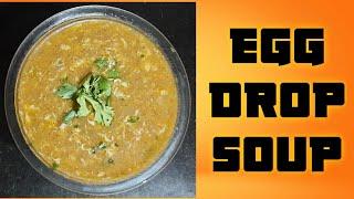#EggDropSoup #vegetableEggDropSoup Egg Drop Soup in telugu How to make egg drop soup in telugu