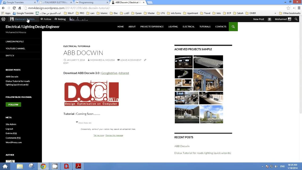 Abb docwin 3. 0 manual.