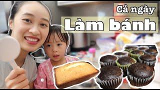 Bánh Cupcake Chocolate, Bánh bông lan Bơ, Cả ngày toàn bánh là bánh