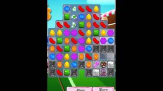 Candy Crush Saga Level 1444 No Booster with tips