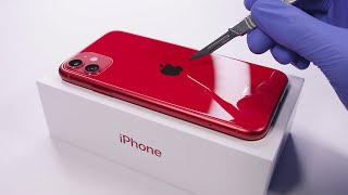 iPhone 11 Unboxing Red Edition - ASMR