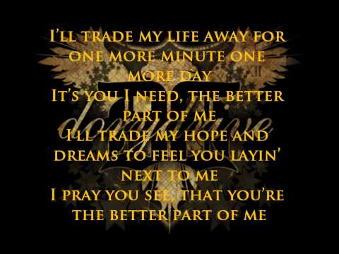 DoryDrive - Better part of me (lyrics)
