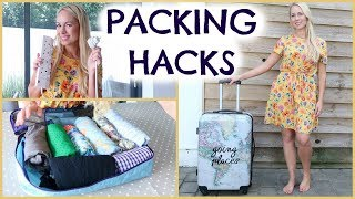 PACKING HACKS  |  HOW TO PACK  |  EMILY NORRIS