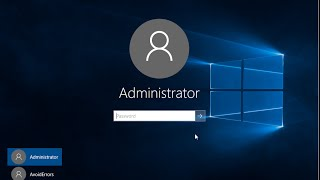 Windows 10 - Enable The Built-in Administrator Account