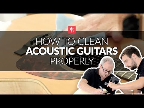 How To Clean Acoustic Guitars - Guitar Maintenance Lesson