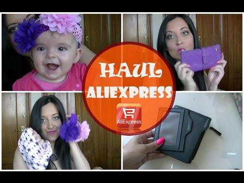 Haul de Aliexpres (Iphone 6, Lentes, cositas para mi beb�...)