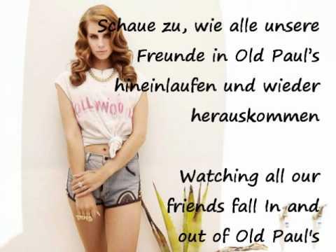 Lana Del Rey - Video Games deutsche Übersetzung lyrics screen