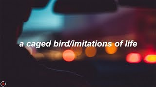The Cinematic Orchestra - A Caged Bird/Imitations of Life (feat. Roots Manuva) (Lyrics)