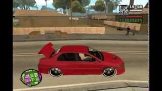 Diversão na rua com o carro de som tunado-Gta San