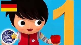 Das Nummer 1 Lied | Kinderlieder | Little Baby Bum Deutsch | Kinderreime Für Kinder