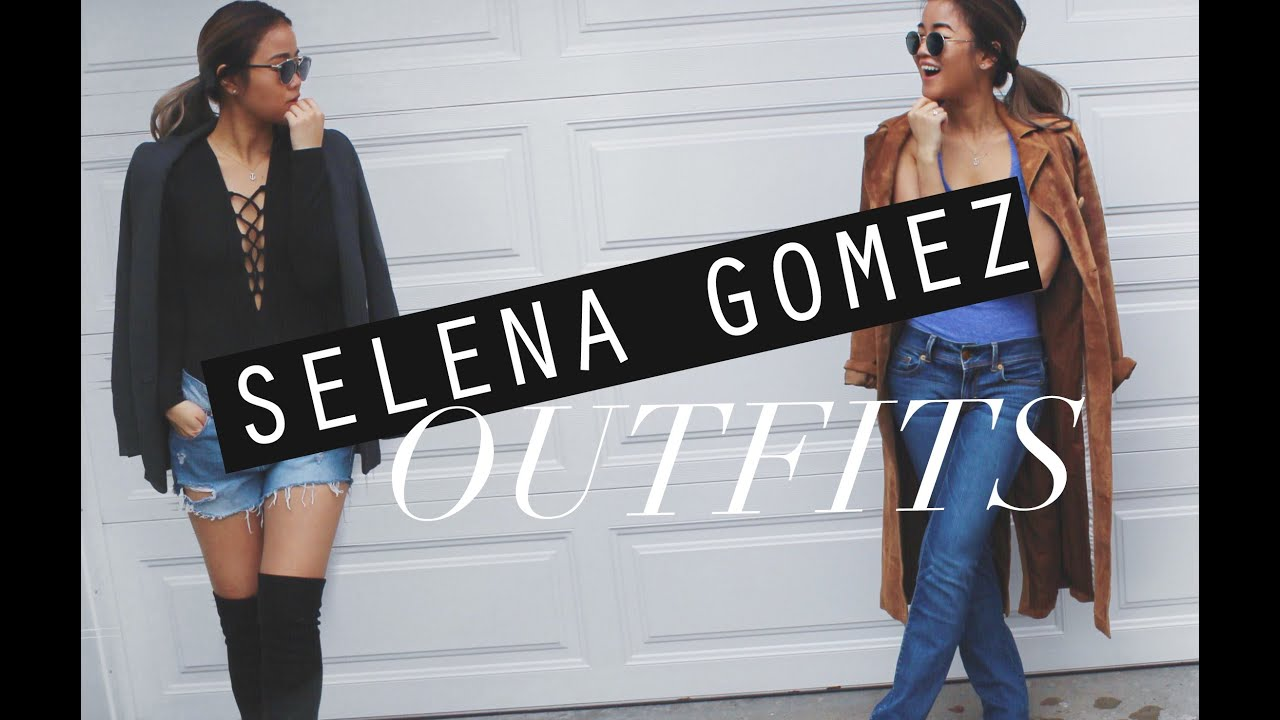 How I Style Selena Gomez Inspired Outfits Rachspeed Youtube