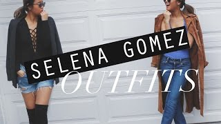 HOW I STYLE: Selena Gomez Inspired Outfits! | rachspeed