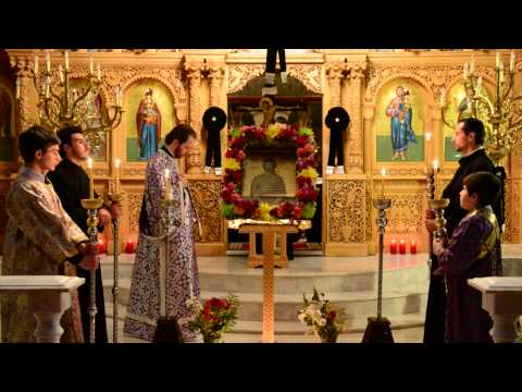 The Service of The Bridegroom, Holy Monday at Transfiguration Greek Orthodox Church, Corona, N.Y.