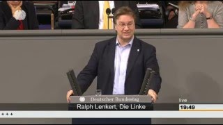 Ralph Lenkert, DIE LINKE: Glaubwürdigkeit beim Netzausbau? Fehlanzeige!