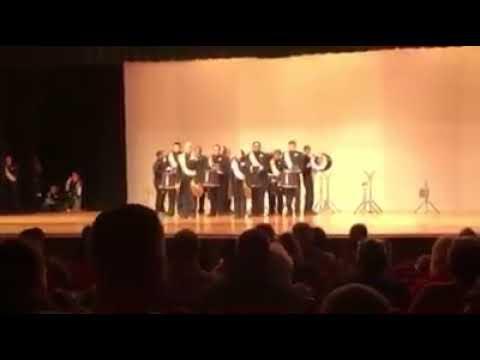 Shelbyville High School Drumline 2018