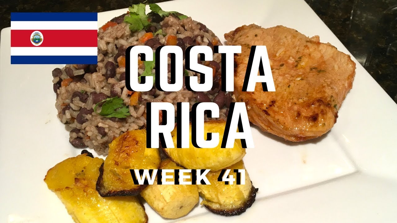 Second Spin, Country 41: Costa Rica [International Food]