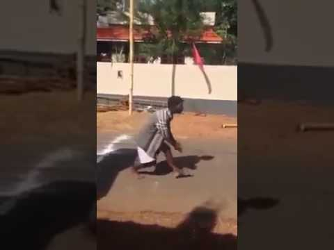 Amazing dancing talent. Kerala drunken street dance