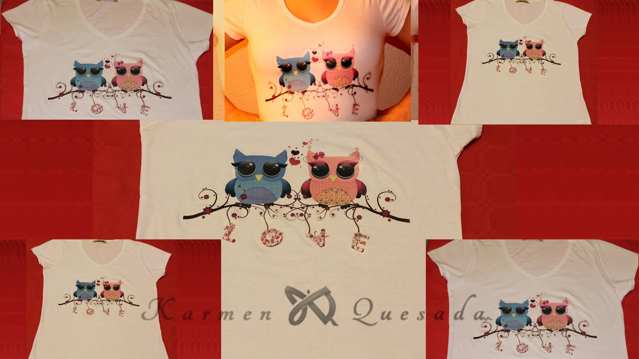 Decorar Camisetas Infantiles Tutorial Estampar Un Diseño En Una Camiseta Con Papel Transfer Diy