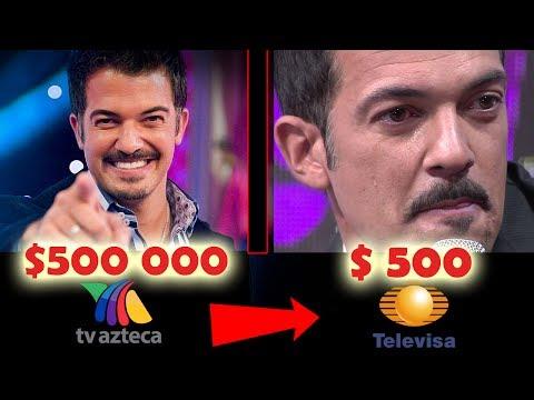 Tras Crisis en Televisa, Ahora Ganan Esto los Famosos!!