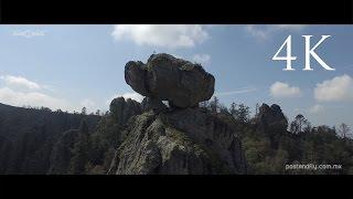 Mineral del Monte desde el aire - 4K Inspire 1