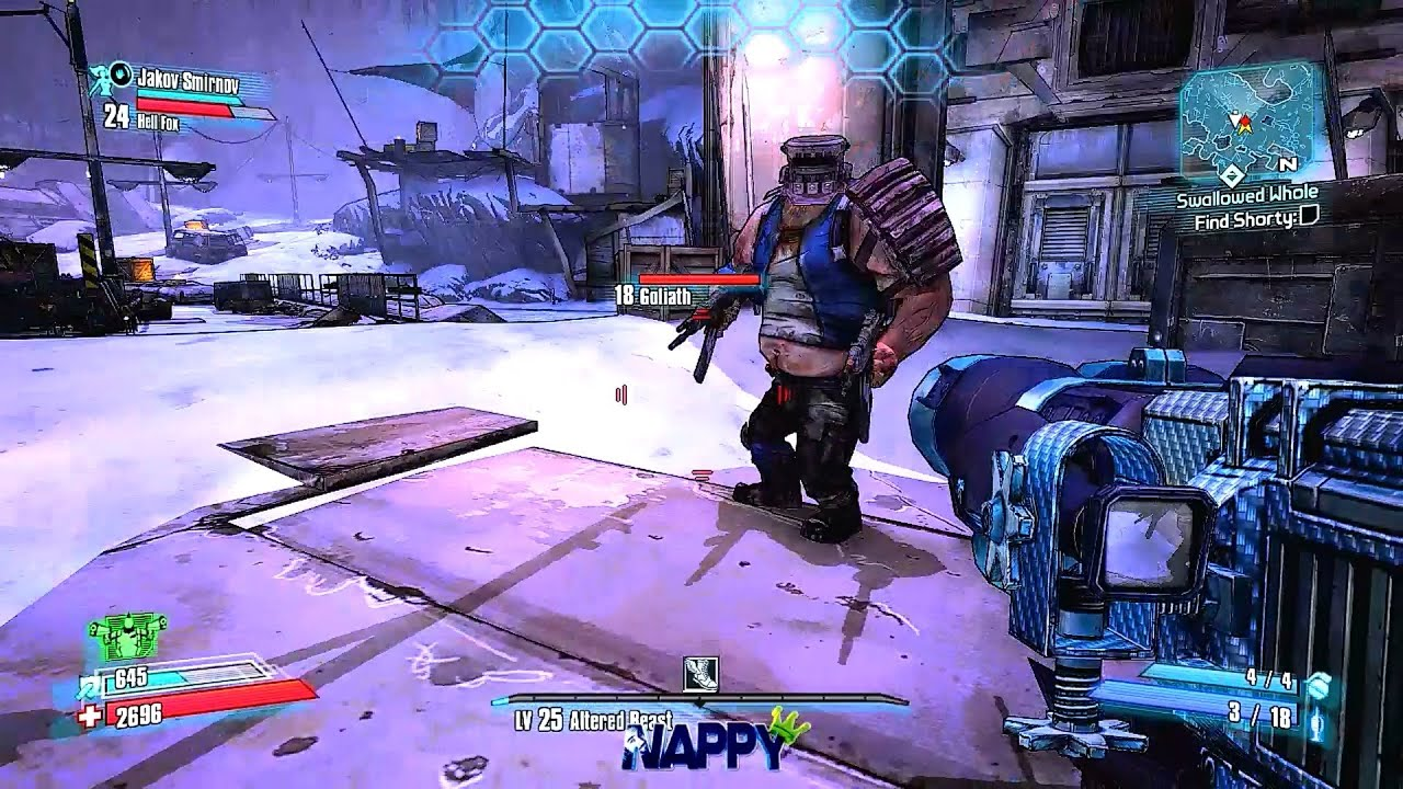 Borderlands 2 Quest - Year of Clean Water