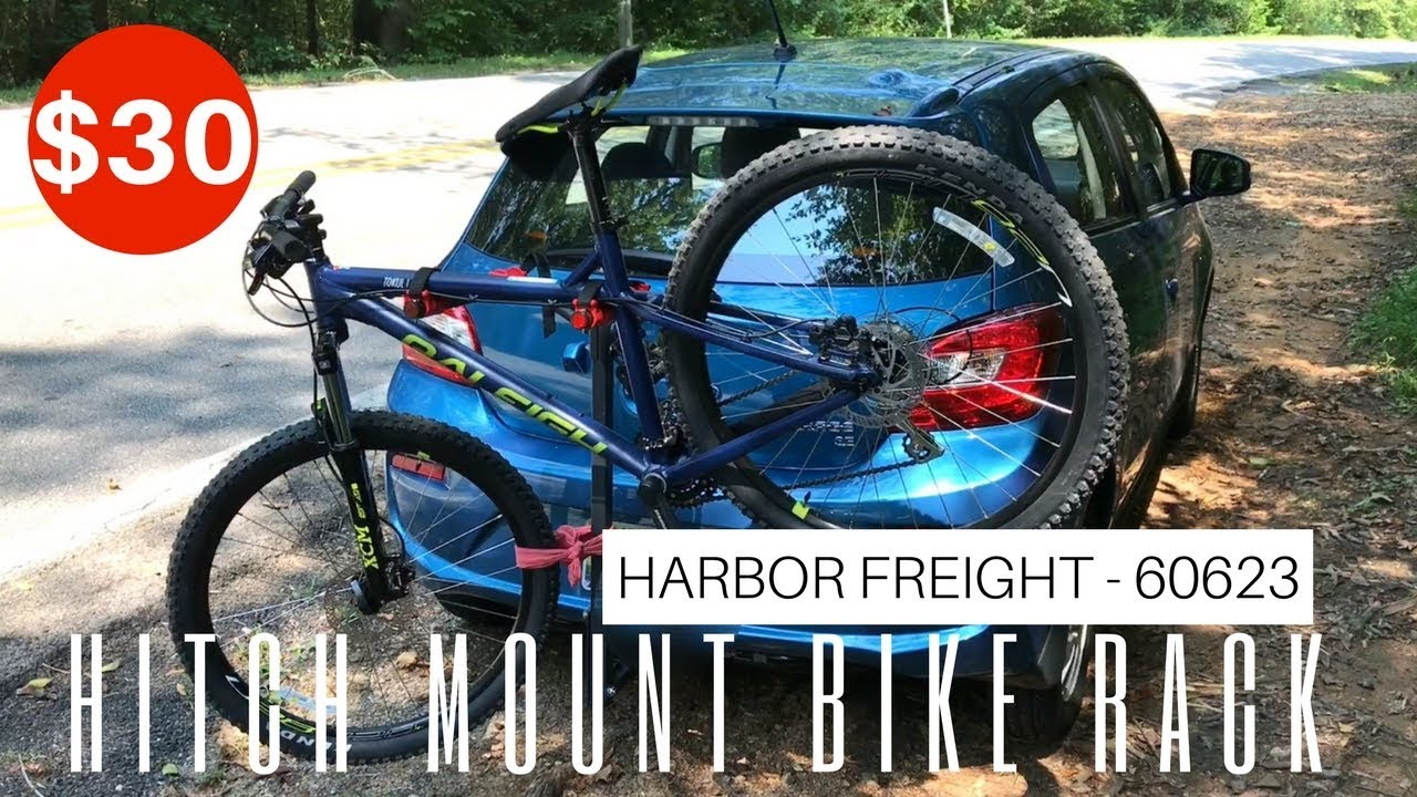 30 Hitch Mount Bicycle Rack From Harbor Freight Item
