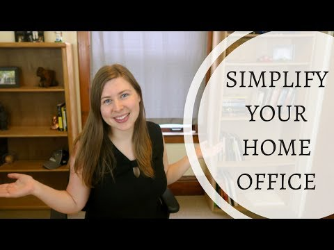 Minimalist Home Office Tour | Tips for a Minimalist Home Office