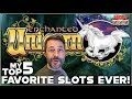 MY TOP 5 FAVORITE SLOT MACHINES TO PLAY! - YouTube