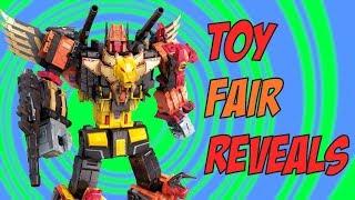 Transformers Toy Fair Reveals 2018 (POTP Predaking, Studio series, Cyberverse)
