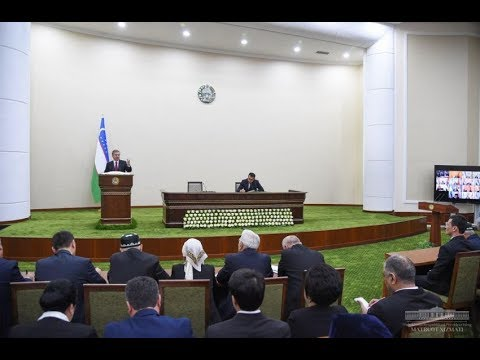 On March 1, 2019, the President held a meeting with the activists of Namangan