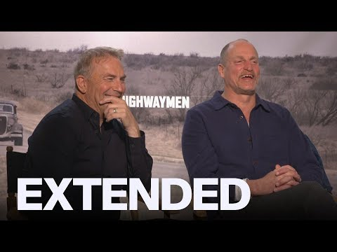 Woody Harrelson Tried To Get Kevin Costner To Eat Better In 'The Highwaymen' | EXTENDED